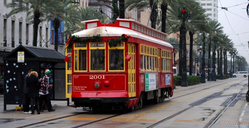 New Orleans Streetcars Bondinhos