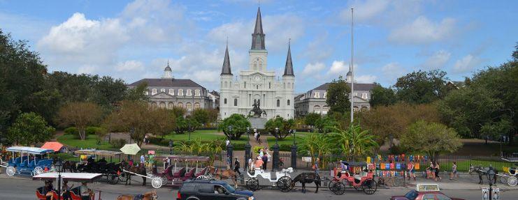 Jackson Square em New Orleans
