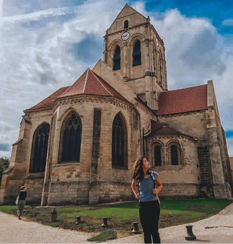 Lee no Auvers-sur-Oise, na França.