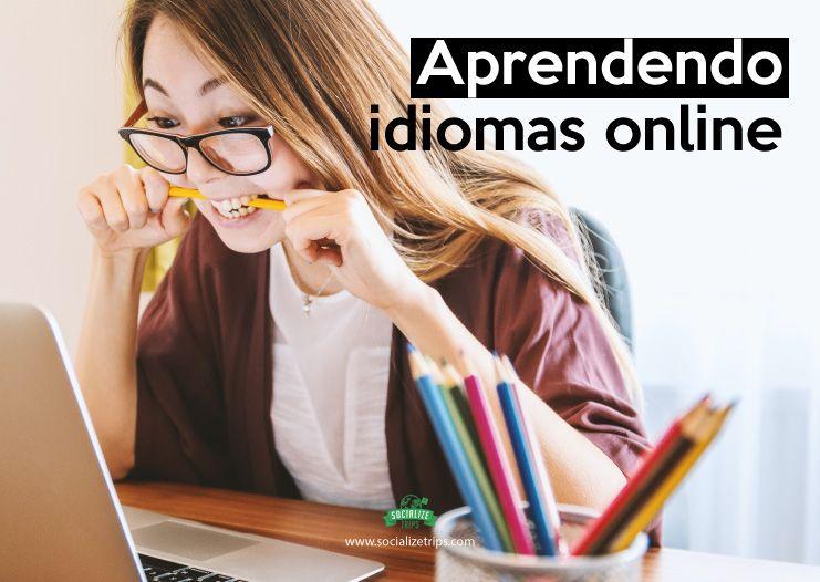 Aprendendo idiomas online