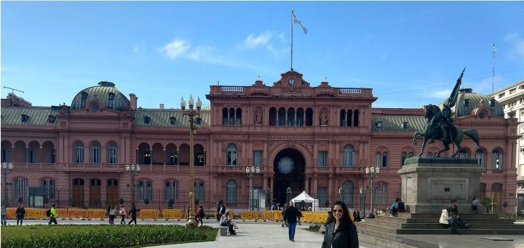 Casa Rosada, Argentina.